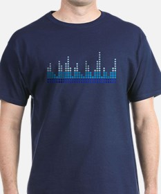 Equalizer music sound T-Shirt