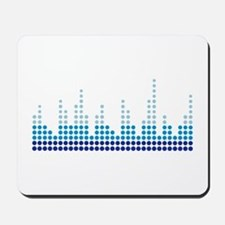 Equalizer music sound Mousepad