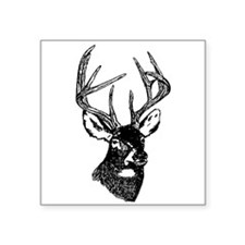 White Tailed Deer 10 Point Buck Sticker