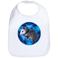 Baby Possum Kaleidoscope Bib