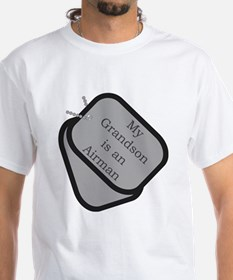 My Grandson is an Airman dog tag Shirt