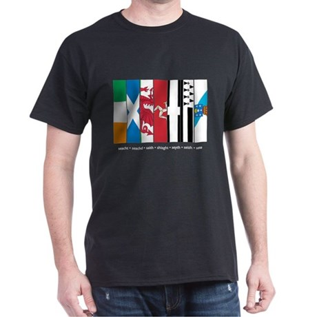 Seven Celtic Nations Dark T-Shirt