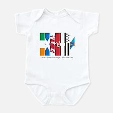 Seven Celtic Nations Infant Bodysuit