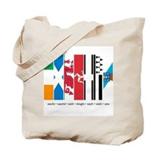 Seven Celtic Nations Tote Bag