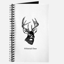 White Tailed Deer 10 Point Buck Journal