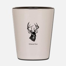 White Tailed Deer 10 Point Buck Shot Glass