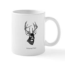 White Tailed Deer 10 Point Buck Mugs