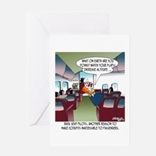 Back Seat Pilots Greeting Card