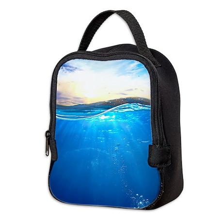 Underwater Ocean Neoprene Lunch Bag