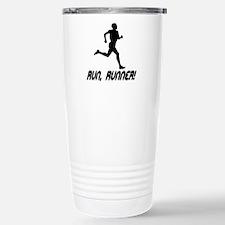 Run Runner Stainless Steel Travel Mug