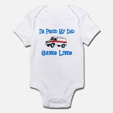 Ambulance Pride-Dad Infant Bodysuit