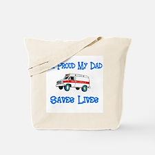 Ambulance Pride-Dad Tote Bag