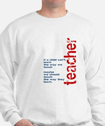 If A Child Cant Learn ... Teacher Jumper