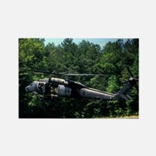 Blackhawk Touchdown Rectangle Magnet