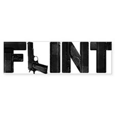 Flint Gun Michigan Texas Bumper Bumper Sticker