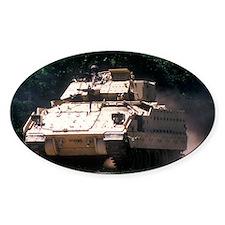 Bradley Vehicle 4 Oval Decal