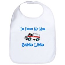 Ambulance Pride-Mom Bib