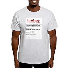Humbug:  Ash Grey T-Shirt