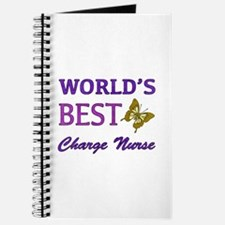 World's Best Charge Nurse (Butterfly) Journal