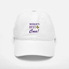 World's Best CNA (Butterfly) Baseball Baseball Cap