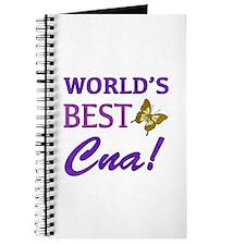 World's Best CNA (Butterfly) Journal