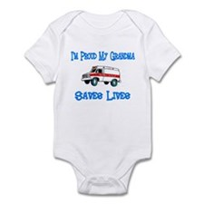 Ambulance Pride-Grandma Infant Bodysuit