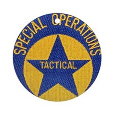 New Orleans PD Tactical Ornament (Round)