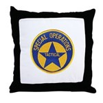 New Orleans PD Tactical Throw Pillow