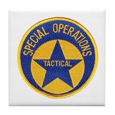 New Orleans PD Tactical Tile Coaster