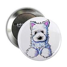 Westie Pocket PUPPY Button