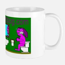 Bunnie Business Card Mug