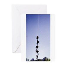 Rangers on Rope Greeting Cards (Pk of 10)