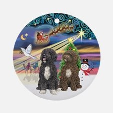 XMagic - Two PWDs Ornament (Round)