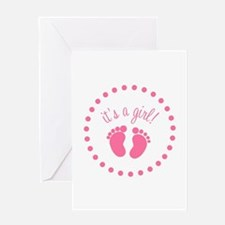 It's A Girl Greeting Card