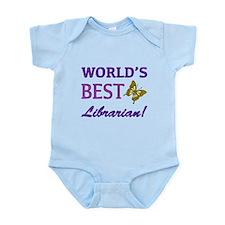 World's Best Librarian (Butterfly) Infant Bodysuit