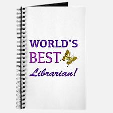World's Best Librarian (Butterfly) Journal