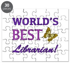 World's Best Librarian (Butterfly) Puzzle
