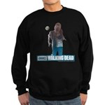 Walking Dead Full Moon Zombie Sweatshirt (dark)