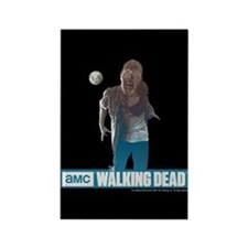 Walking Dead Full Moon Zombie Rectangle Magnet