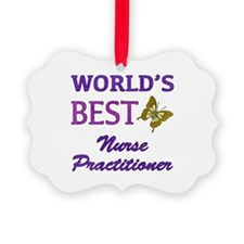 World's Best Nurse Practitioner (Butterfly) Pictur
