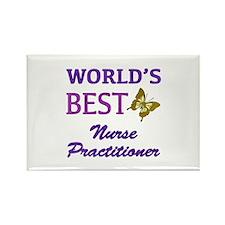 World's Best Nurse Practitioner (Butterfly) Rectan