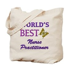 World's Best Nurse Practitioner (Butterfly) Tote B