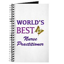 World's Best Nurse Practitioner (Butterfly) Journa