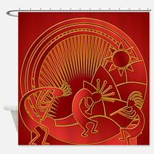 Red Pepper Jam Shower Curtain