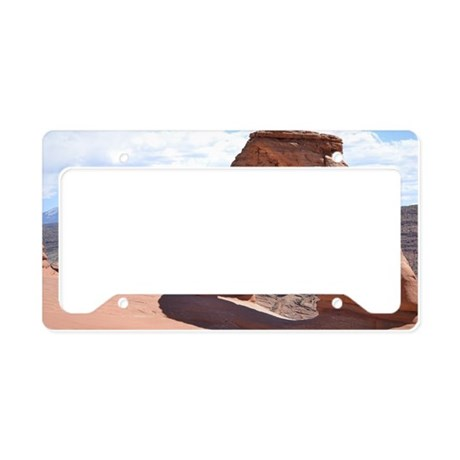 The Delicate Arch License Plate Holder