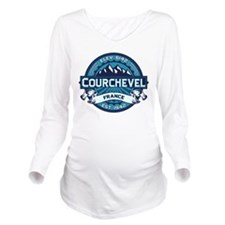 Courchevel Ice.png Long Sleeve Maternity T-Shirt