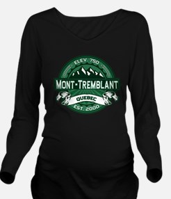 Mont Tremblant Forest.png Long Sleeve Maternity T-