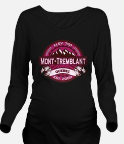 Mont Tremblant Raspberry.png Long Sleeve Maternity