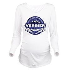Verbier Midnight.png Long Sleeve Maternity T-Shirt