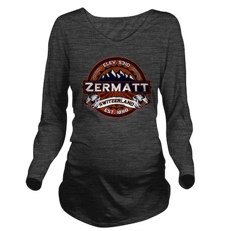 Zermatt Vibrant Long Sleeve Maternity T-Shirt